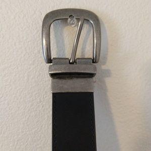 Accessories - Black and dark brown reversible belt